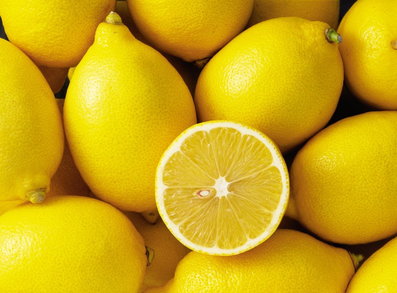 Des citrons, pour des recettes de produits ménagers version maison
