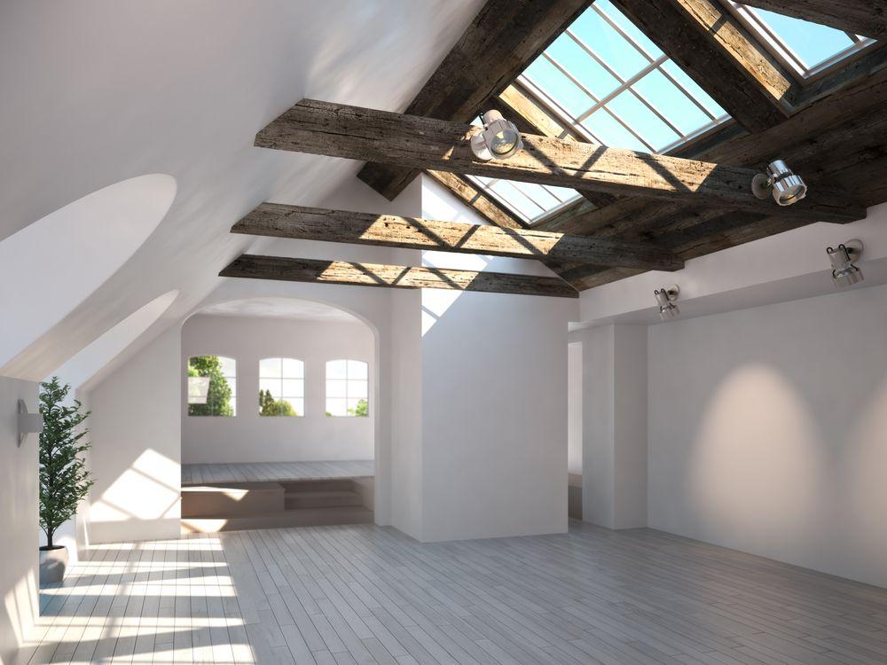 Petite pièce optimisé en allant chercher tout les combles et espaces vide du plafond en angles