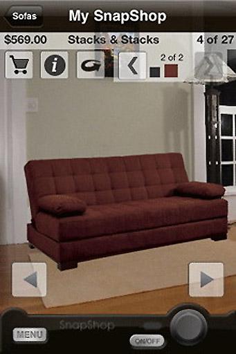 Application Snapshop pour iPhone