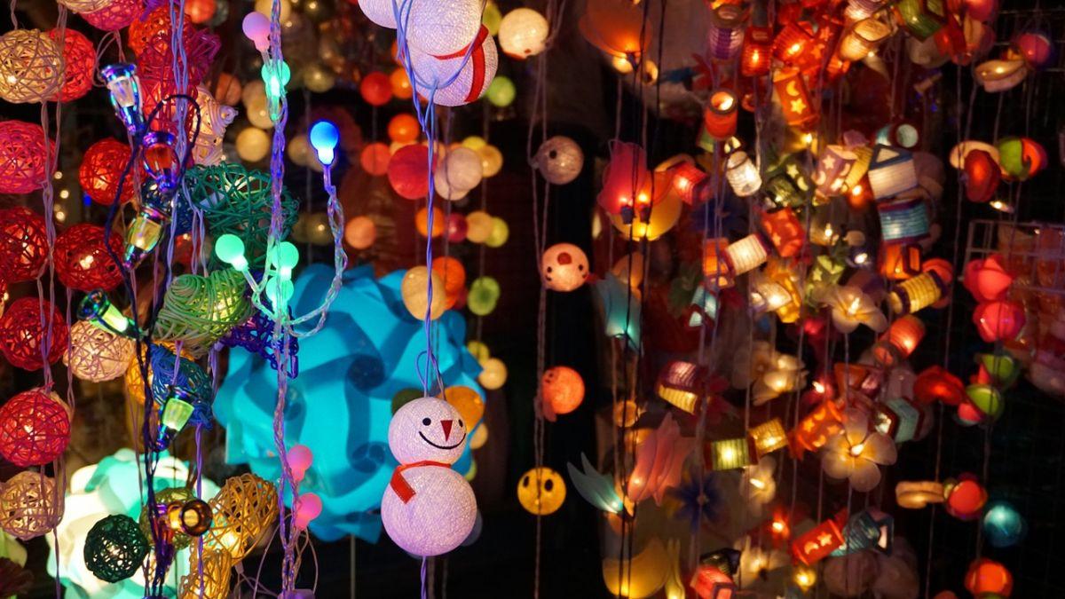Image de guirlande de Noël