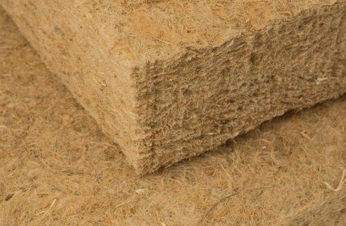 Image de torchis, de la laine minéral écologique