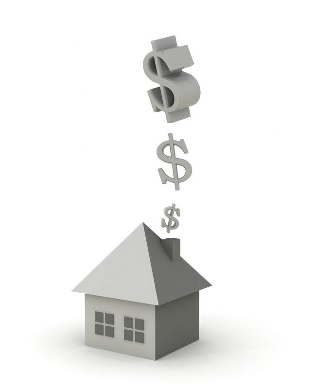 Image de maison représentant plusieurs dépenses s'envolant en fumée