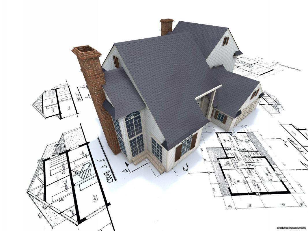 Maison modélisé en 3D selon un plan de rénovation
