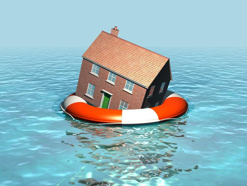 Maison innondées
