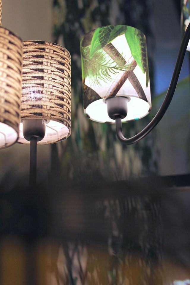 Belle abat-jours de style végétale de la collection Christian Lacroix