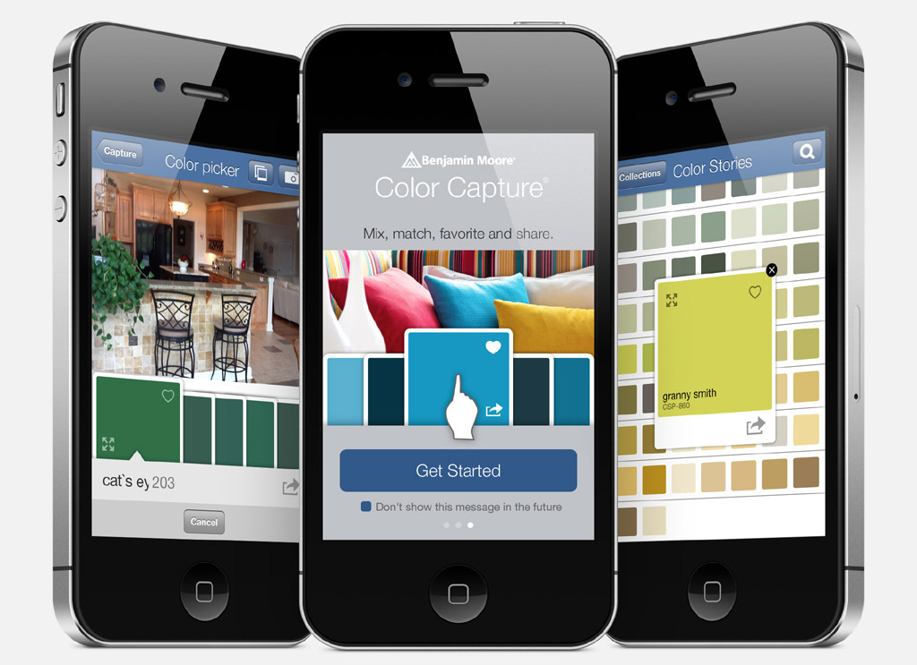 Application Benjamin Moore Colour Capture pour iPhone, iPod touch