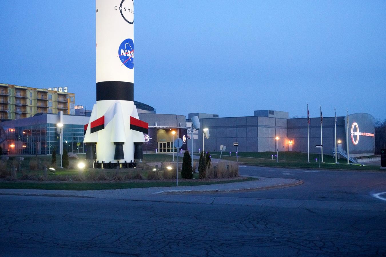 Cosmodome, mini centre spatial pour les enfants