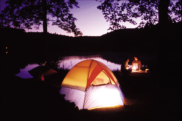 Terrain de camping en Outaouais