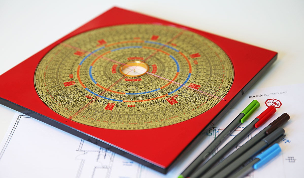 Une tablette Feng Shui