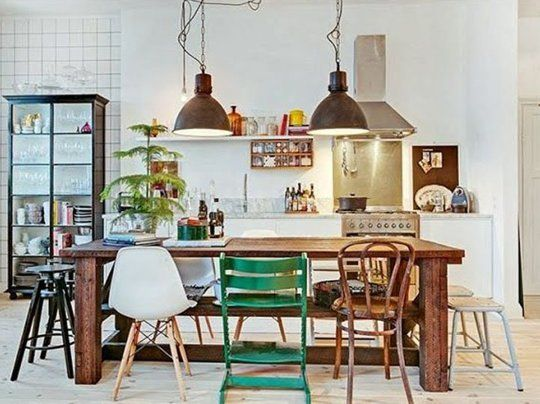 Reference Apartmenttherapy 10 Style Tips For Pulling Off A Mix Match Dining Set 203282