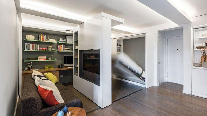 maximiser l espace des meubles pour que les petits espaces paraissent plus grands. Black Bedroom Furniture Sets. Home Design Ideas