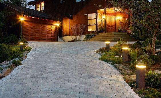 Eclairage exterieur piscine terrasse amazing clairage for Eclairage exterieur garage