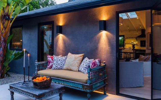 jardin terrasse balcon quel clairage choisir. Black Bedroom Furniture Sets. Home Design Ideas