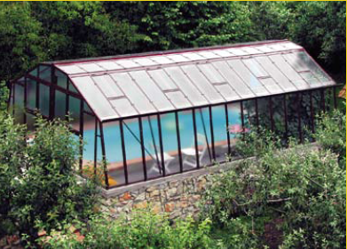 Superbe abris de piscine