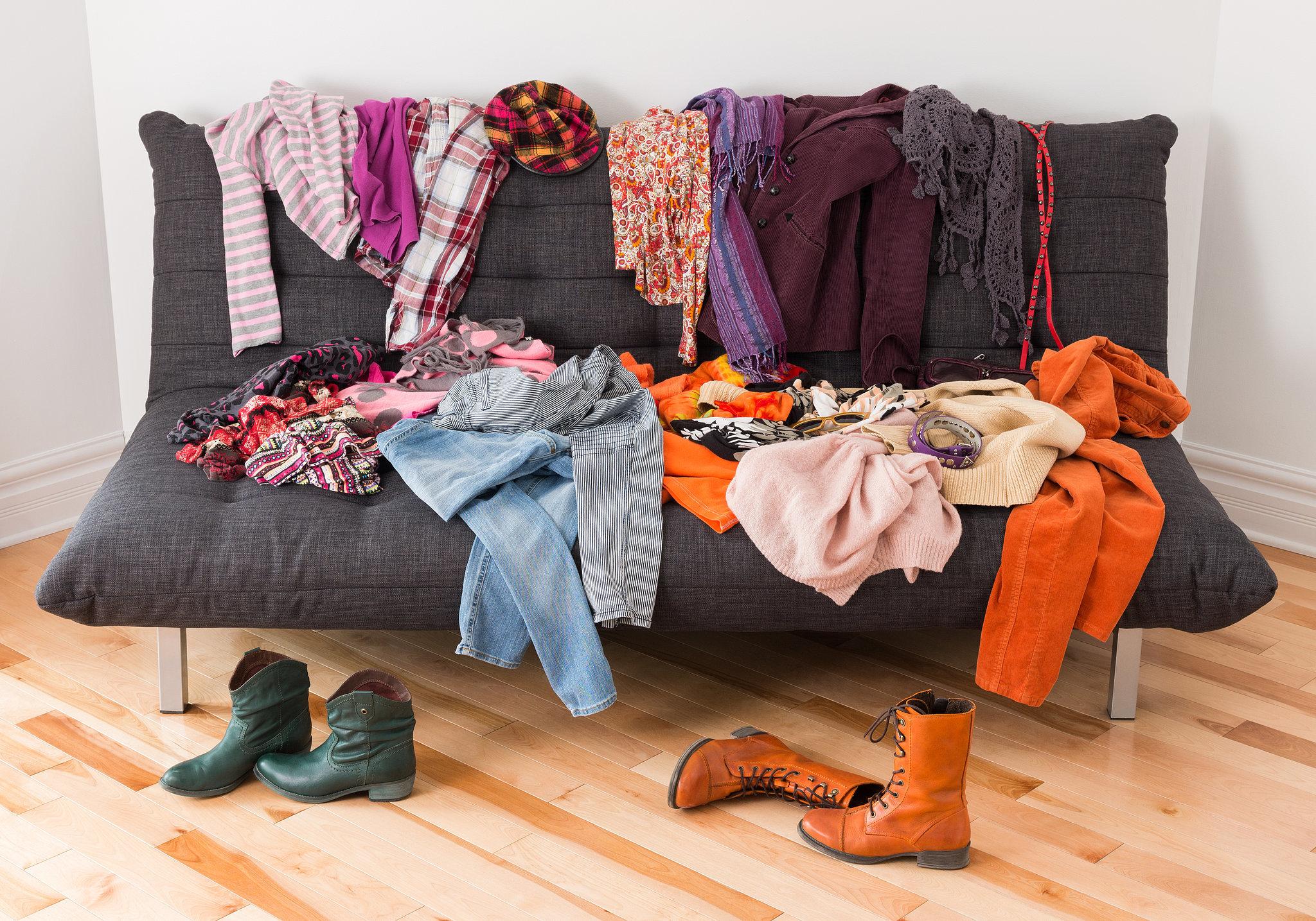 Vêtement à trier, un mal nécessaire pour gagner du rangement