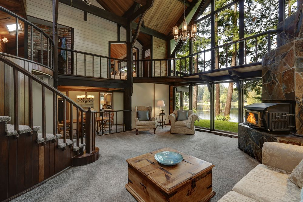 Décoration de maison, inspiration chalet