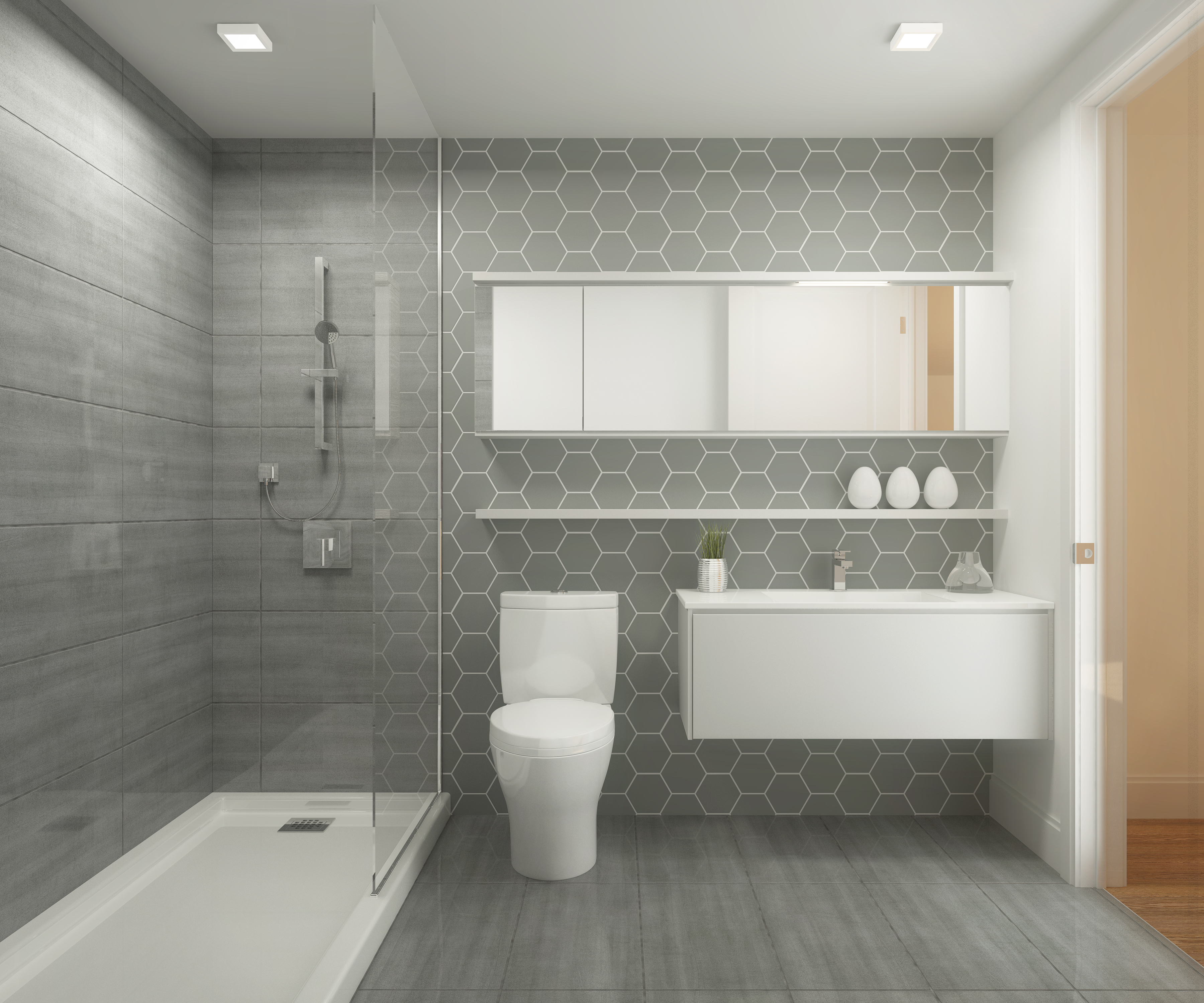 Petit guide pour une salle de bain wow for Salle de bain en gris