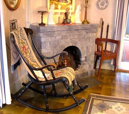 Chaise bersante du presbytere hanté