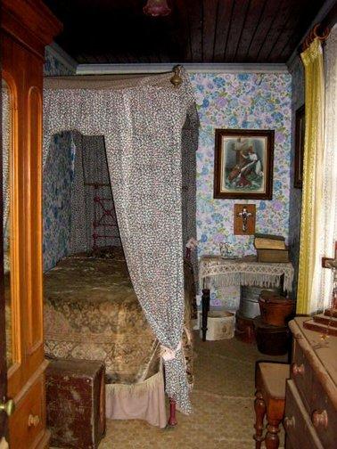 Chambre lugubre du Manoir de Monte Cristo
