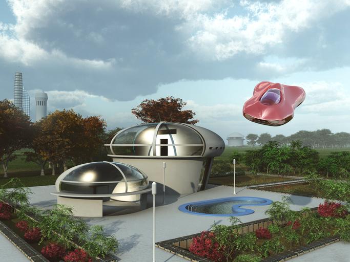 À quoi ressemblera la maison du futur?