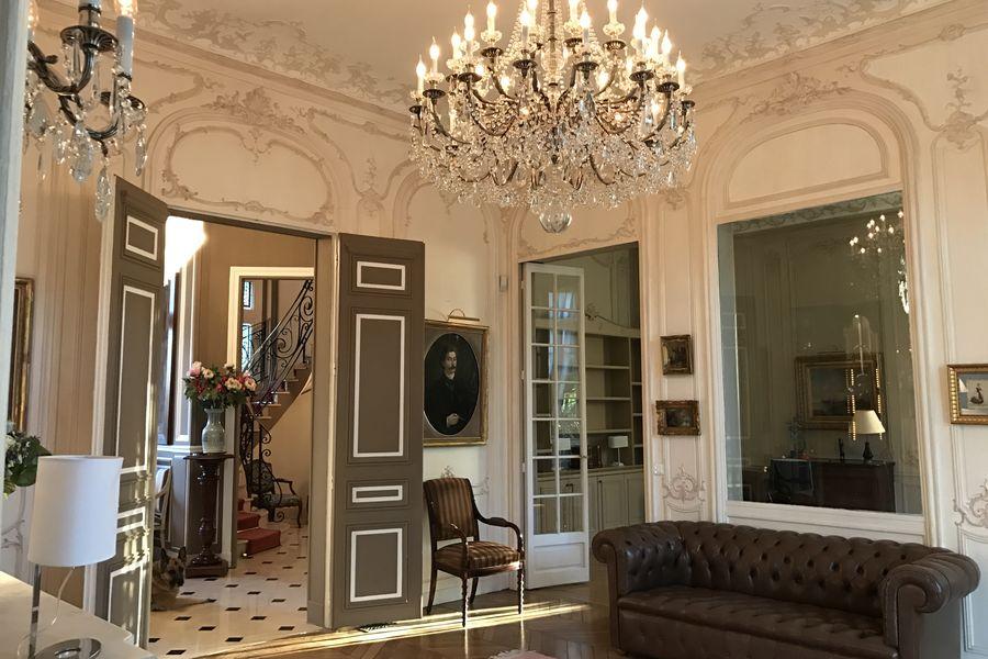 Maison de riche en France
