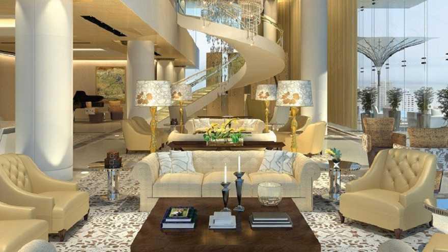 Maison de riche en Indes