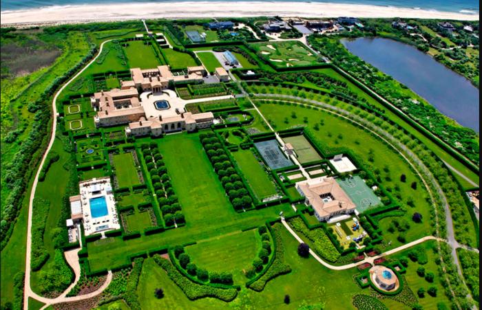 Maison de riche aux États Unis