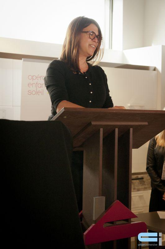 Claire Hudon, présidente-directrice générale d'Opération Enfant Soleil.