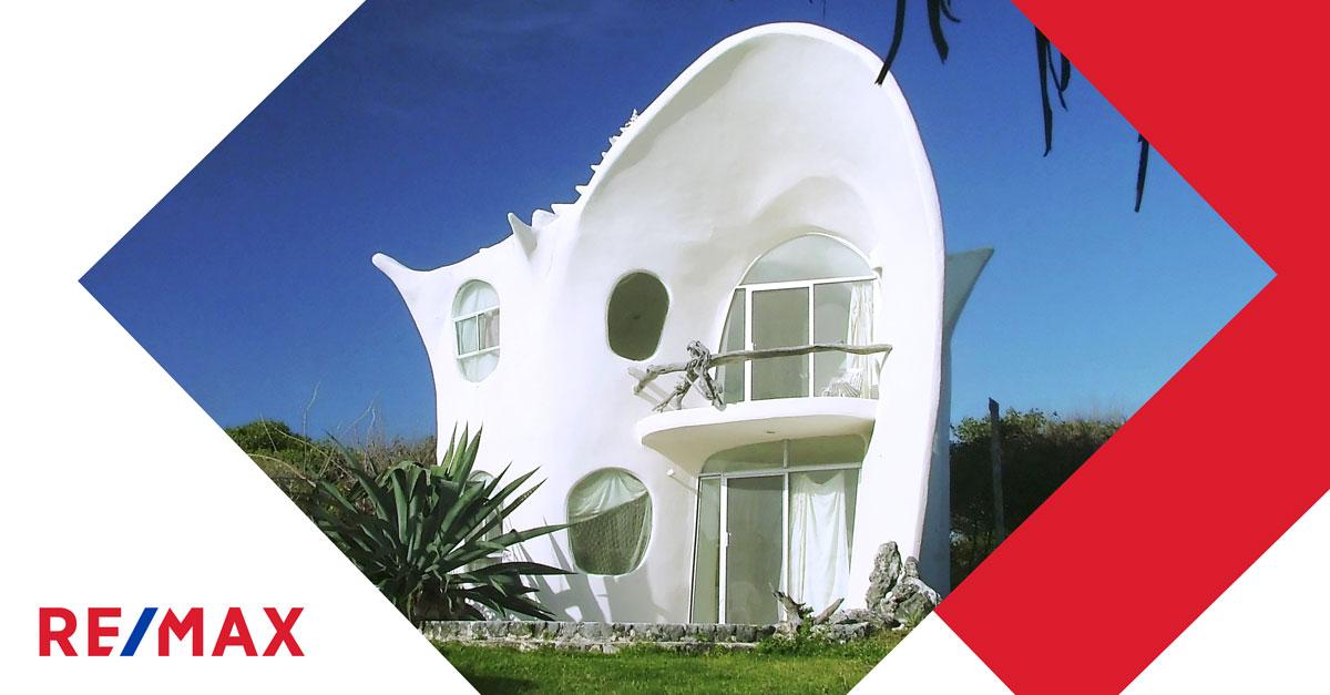 Habiteriez-vous cette maison en forme de coquillage?