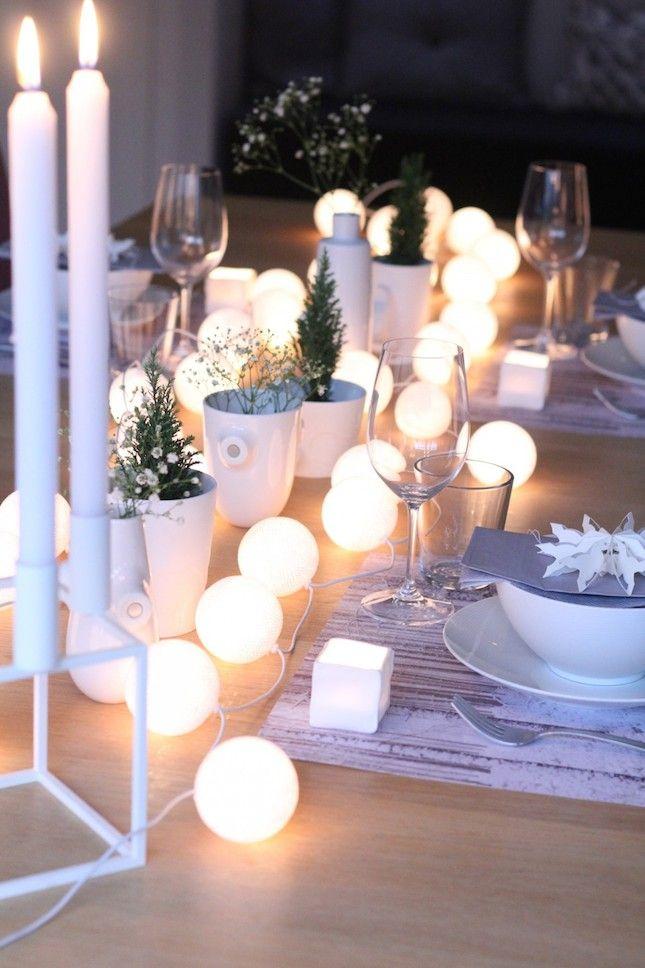 Centre de table de style scandinave