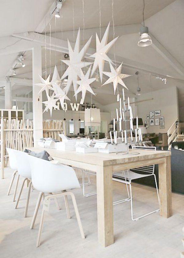 Loft décoré style scandinave