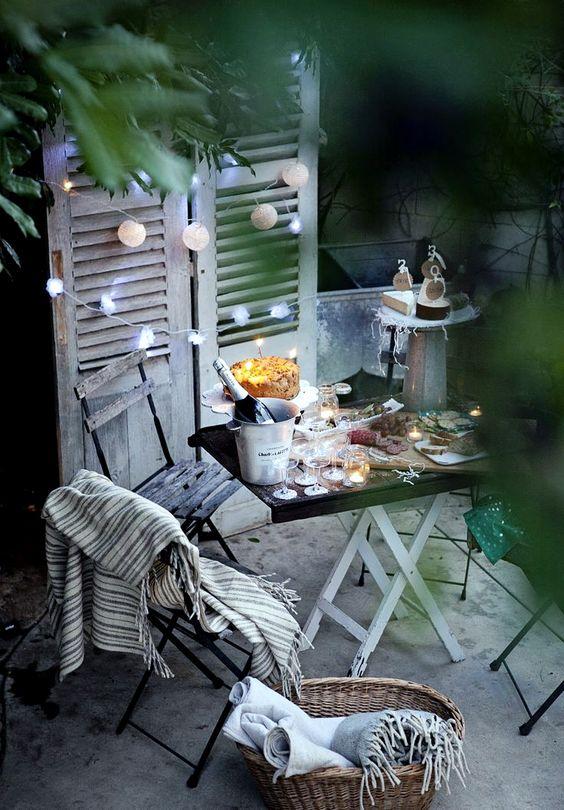 Terrasse style Danemark, hygge